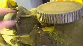 Mowbot robot lawn mower cover off 'walk around'..AVI