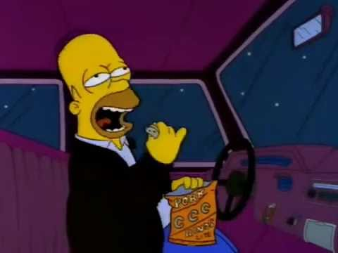 Homer sings spanish flea