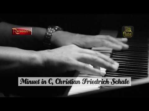 Minuet in C | Schale, Christian Friedrich | + Sheet Music Free