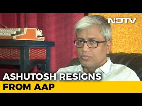 """""""Not In This Lifetime"""": Arvind Kejriwal Rejects Ashutosh's Resignation"""
