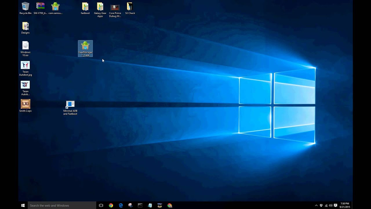 How to install/sideload apps to Android device using command prompt on  Windows