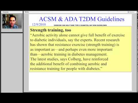 Diabetes and Strength Training