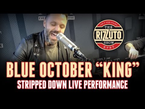 Blue October - King | stripped down, LIVE performance [Rizzuto Show]