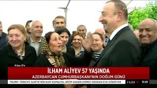 Azerbaycan Cumhurbaşkanı İlham Aliyev 57 yaşında