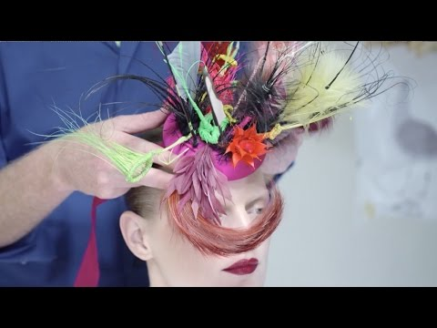 MAC x Philip Treacy: Behind the Scenes | MAC Cosmetics from YouTube · Duration:  1 minutes 40 seconds