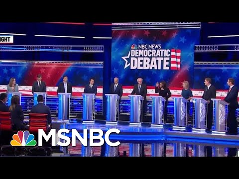 Democrats Square Off In Contentious Second Round Of Debate | Velshi & Ruhle | MSNBC The 2020 Democratic field may be taking a new shape after 10 more candidates took the debate stage last night. Stephanie Ruhle breaks down the highlights of ..., From YouTubeVideos