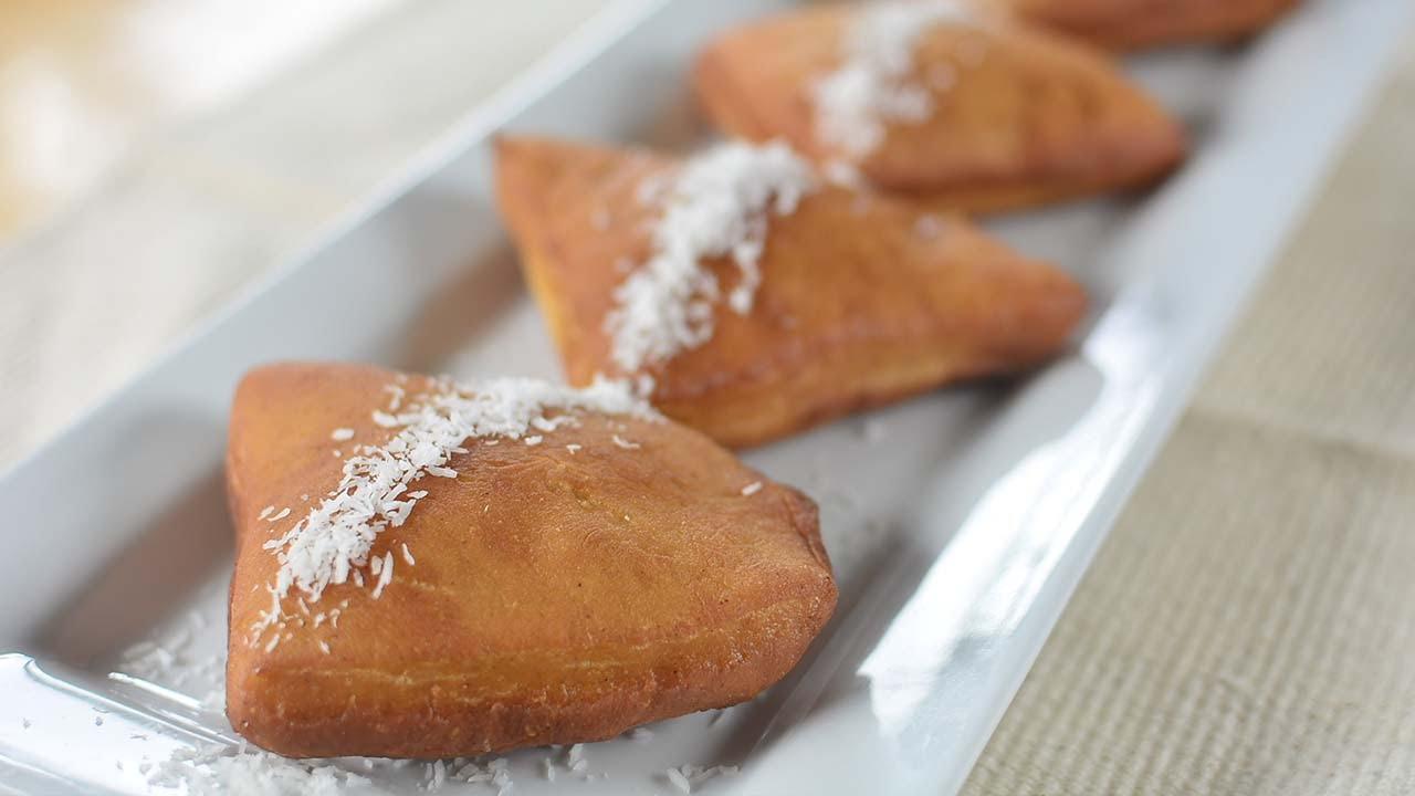 Sweet Fried Bread Mandazi Mahamri Chef Lolas Kitchen