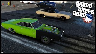 GTA 5 ROLEPLAY - CUMMINS CHARGER VS CAMARO DURAMAX DRAG RACE - EP. 985 - AFG -  CIV