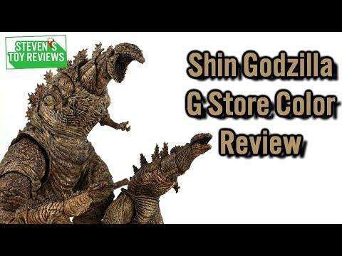 S.H. MonsterArts Shin Godzilla G Store Color Ver Review