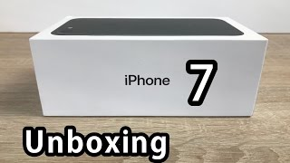 unboxing & Setting Up My iPhone 7 Plus (128GB Black)