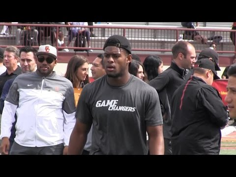 2017 USC Pro Day Highlights