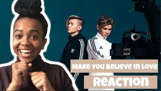 "Video Marcus & Martinus - ""Make You Believe in Love"" (Music Video) REACTION download MP3, 3GP, MP4, WEBM, AVI, FLV Maret 2018"