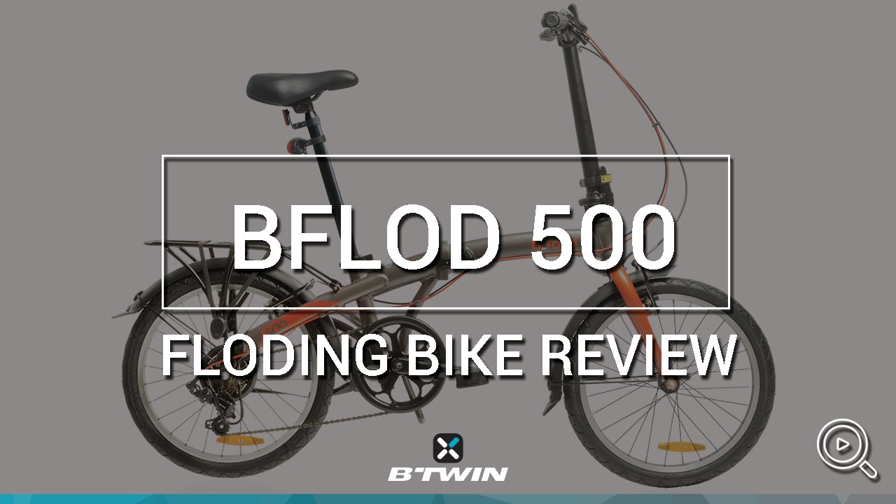 Bici Pieghevole Bfold 7.Folding Bike Bfold 500 B Twin Velo Pliant Bfold 500 B Twin