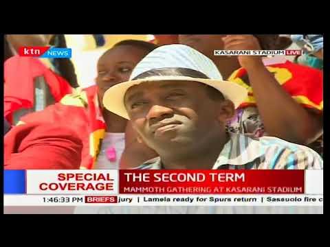 President Uhuru's full speech during the inauguration ceremony