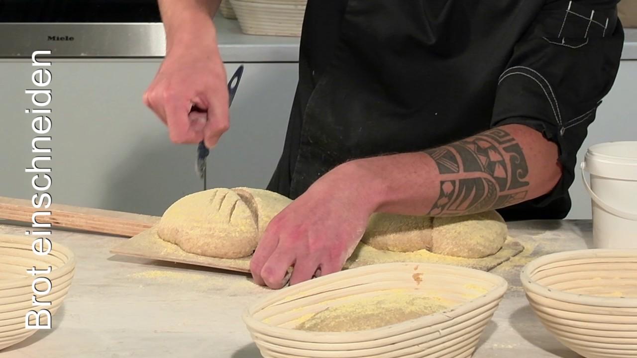 Mit Tollen Mustern Das Brot Einschneiden Holzbackofenrezepte