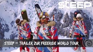 [AUT] STEEP – TRAILER ZUR FREERIDE WORLD TOUR