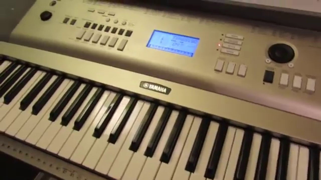 Yamaha ypg 235 talking about functions and features youtube for Ypg 235 yamaha