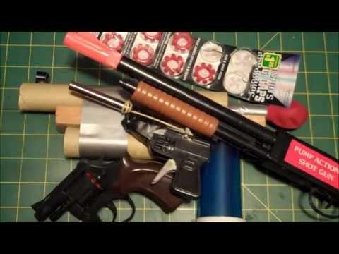 My Homemade BB Guns - How To Videos