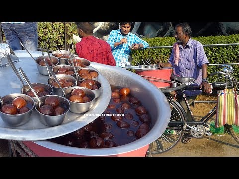 Most Popular Juicy Desserts on bicycle #StreetFood