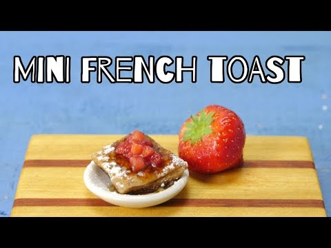 French Toast | Mini Food