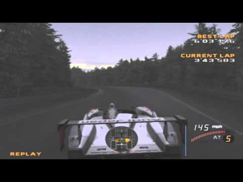 Enthusia Professional Racing: Audi R8 LMP 2004 Nurburg Lap(6:03.176)
