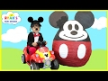 Mickey Mouse Clubhouse Giant Egg Surprise Opening Disney Junior Toys Kids Video World Biggest video