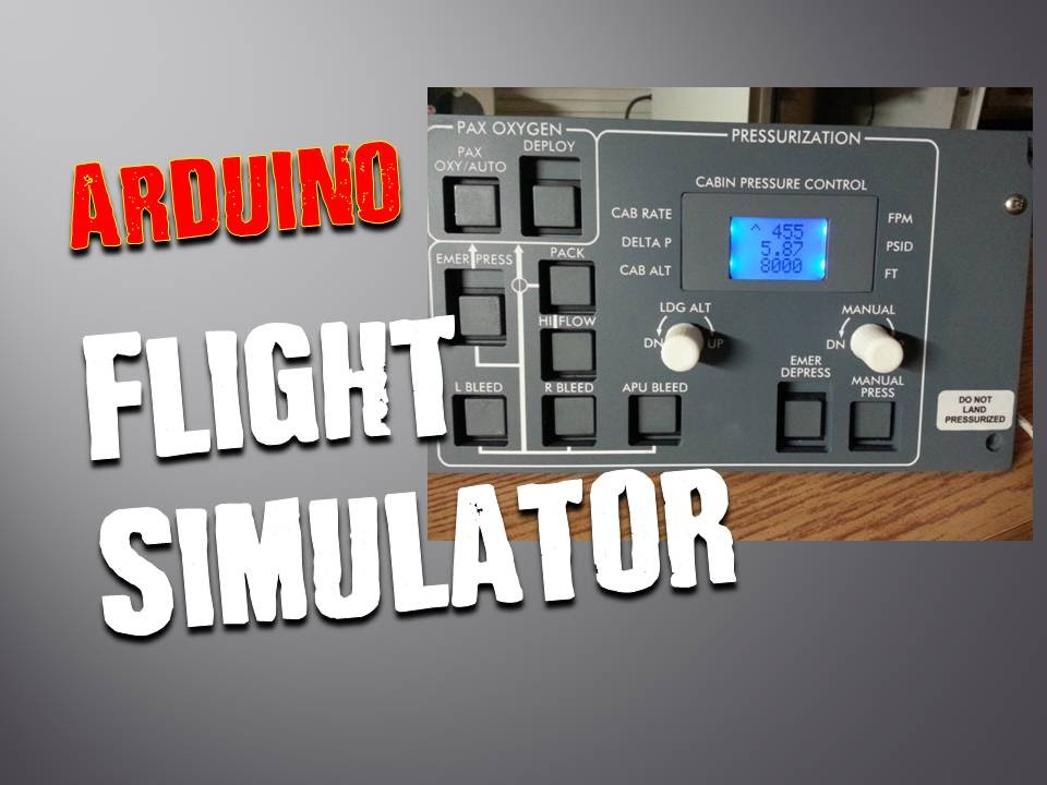 Interfacing arduino with flight simulator tutorial