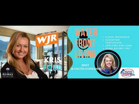 WJR RADIO w/Kris Ford on Flood Insurance and Waterfront Real Estate