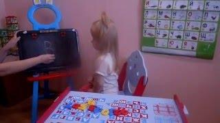 Видео урок - учим буквы алфавита вместе с Ингой