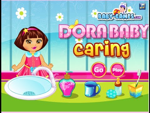 Dora The Explorer Online Games Dora Baby Caring Game