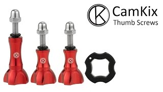 GoPro Hero Accessories Review - Thumbscrew Kit by Camkix