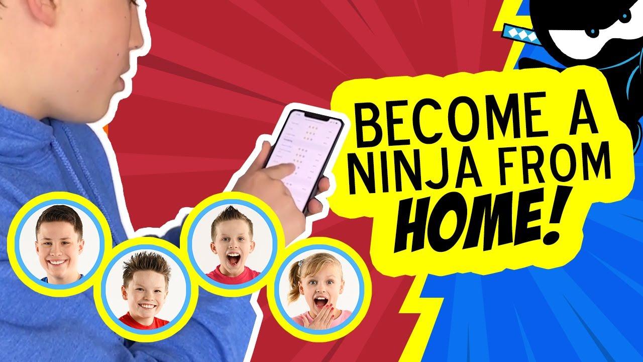Online Ninja Classes! | Become a Ninja Kid | Ninja Kidz TV