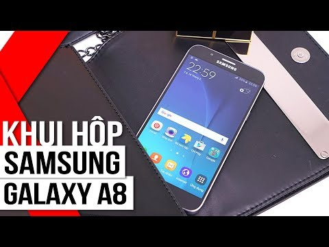 FPT Shop - Đánh giá Galaxy A8: smartphone mỏng nhất của Samsung