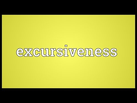 Header of excursiveness