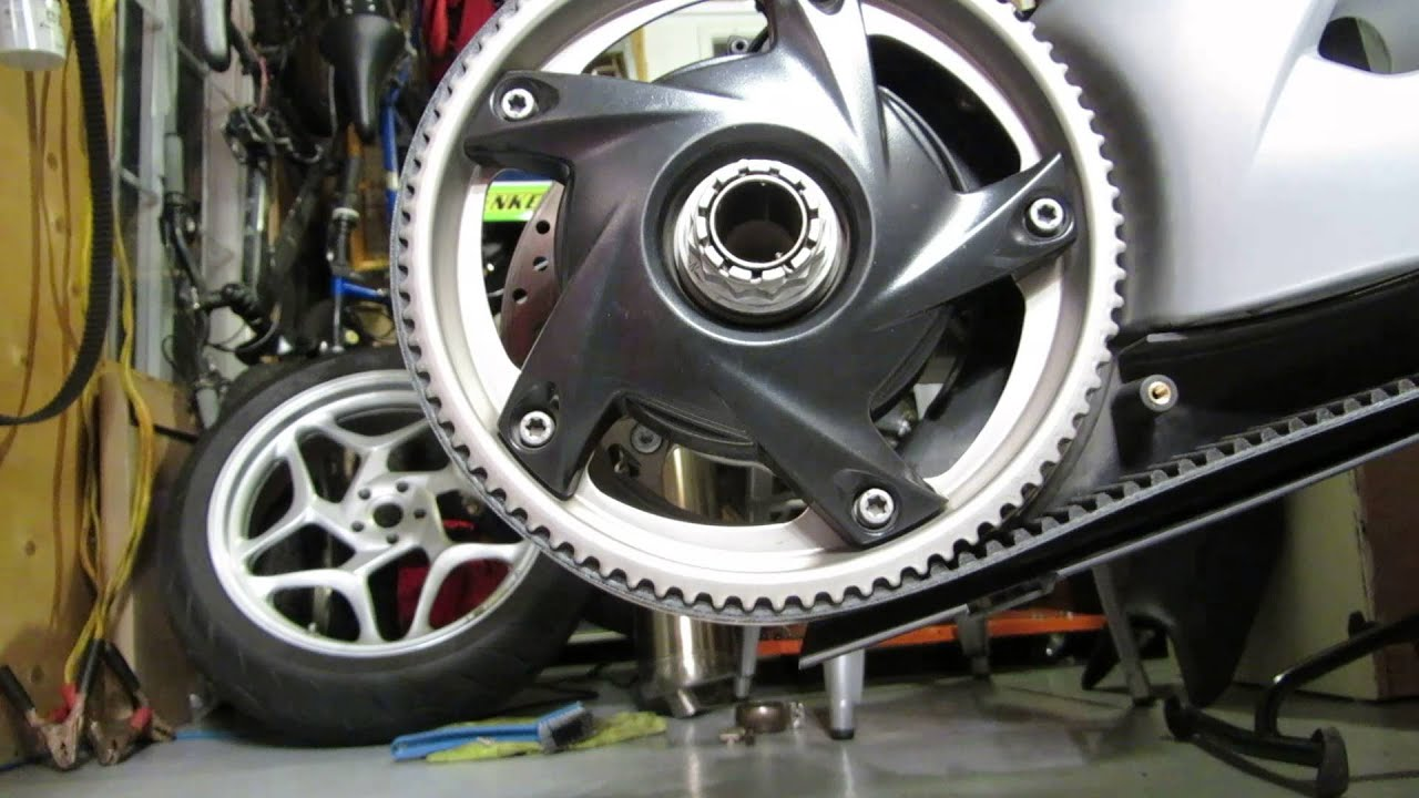 How To Replace Wheel Bearing >> BMW F800ST Rear Wheel pully, belt - bearing noise - YouTube