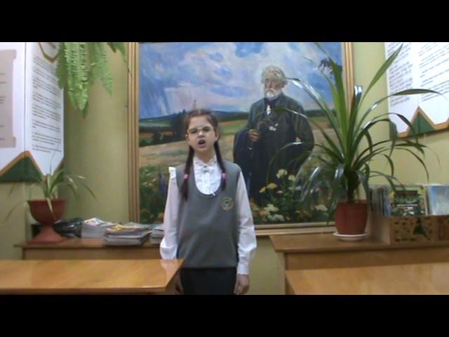 Изображение предпросмотра прочтения – ЕленаПрозукина читает произведение «Бородино» М.Ю.Лермонтова