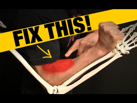 How to Fix Forearm Pain and Tightness (QUICK STRETCH!)