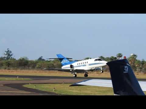 Hawker 800XP LV-ZTR despegando de Formosa - HD