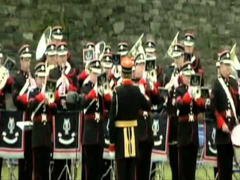 Irish national anthem at Islandbridge