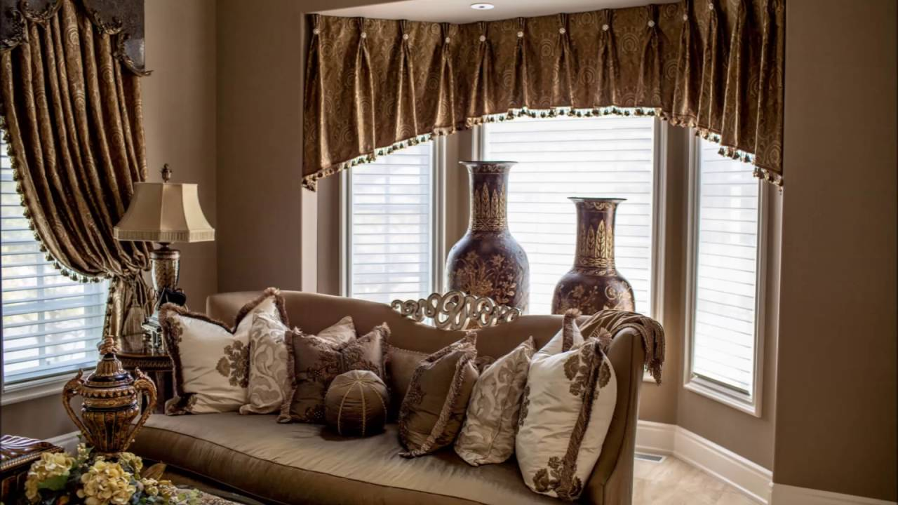luxury living room curtains design ideas - youtube