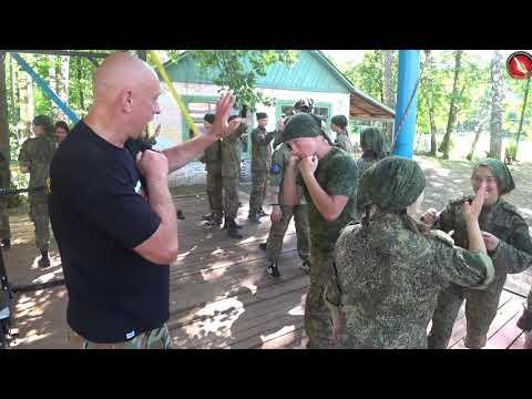 Вадим Старов Ножевой и Рукопашный Бой мастер класс для молодежи Ковров 2019