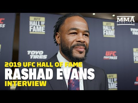 Rashad Evans advises fighters not to feud against UFC: 'It's not something you can win'