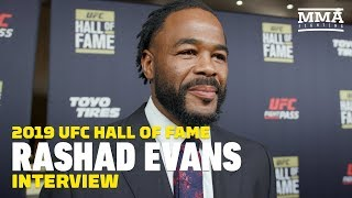 Rashad Evans Advises Young Fighters To Avoid Feuding With The UFC: 'It's Not Something You Can Win'