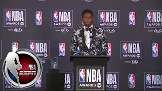 [FULL] Victor Oladipo press conference for winning 2018 NBA Most Improved Player Award | NBA on ESPN