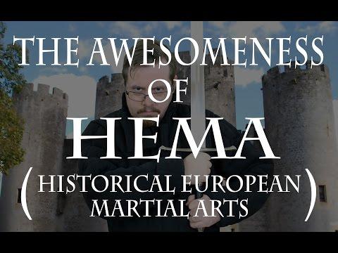 The awesomeness of HEMA (Historical European Martial Arts)