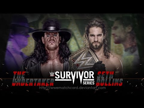 The undertaker.Vs.Seth rollins.Extreme rules dream match.