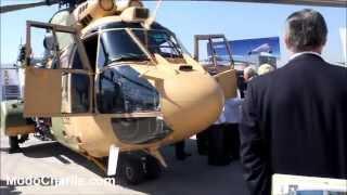 Entrega AS532ALe Cougar a Ejército de Chile en FIDAE 2014