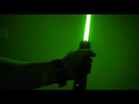 Wicked Lasers Interactive Krypton Saber Expander Youtube