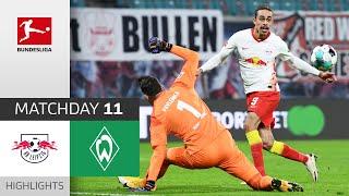 RB Leipzig - SV Werder Bremen | 2-0 | Highlights | Matchday 11 – Bundesliga 2020/21