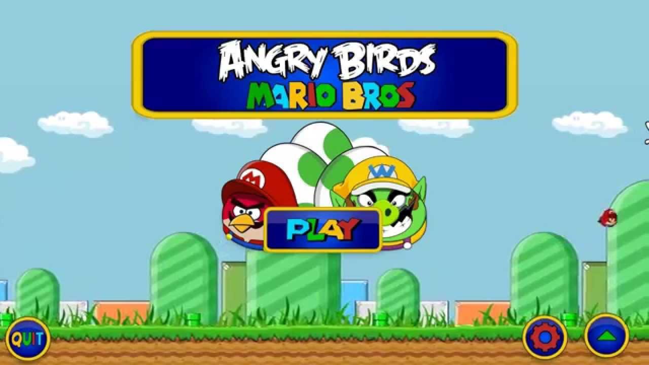 Angry birds version mario bros fanmod hd youtube voltagebd Choice Image